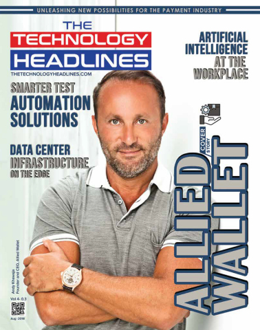 Dr. Andy Khawaja of Allied Wallet on the cover of The Technology Headlines (Photo: Business Wire)