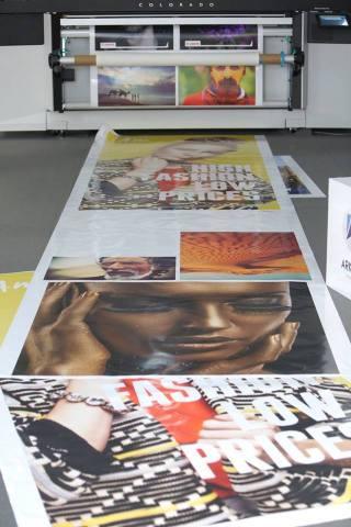 Océ Colorado 1640 print samples (Photo: AETOSWire)