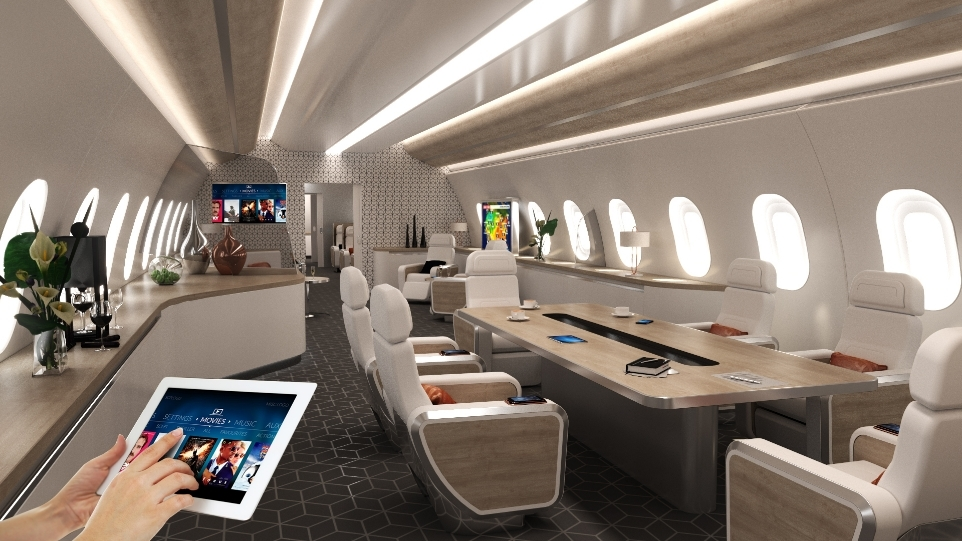 Astronics Pga Solutions Selected By Amac Aerospace For Vip