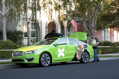 AutoX is launching a grocery delivery and mobile store pilot in San Jose, CA (Photo: Business Wire)