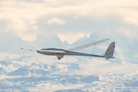 Airbus Perlan Mission II, the world's first initiative to pilot an engineless aircraft to the edge o ...