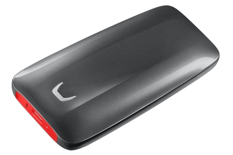 Samsung Portable SSD X5 (Photo: Business Wire)