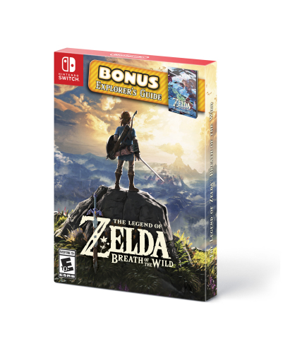 "On Sept. 28, the ""starter pack"" version of The Legend of Zelda: Breath of the Wild will launch with the game and a colorful strategy guide at a suggested retail price of $59.99. (Photo: Business Wire)"