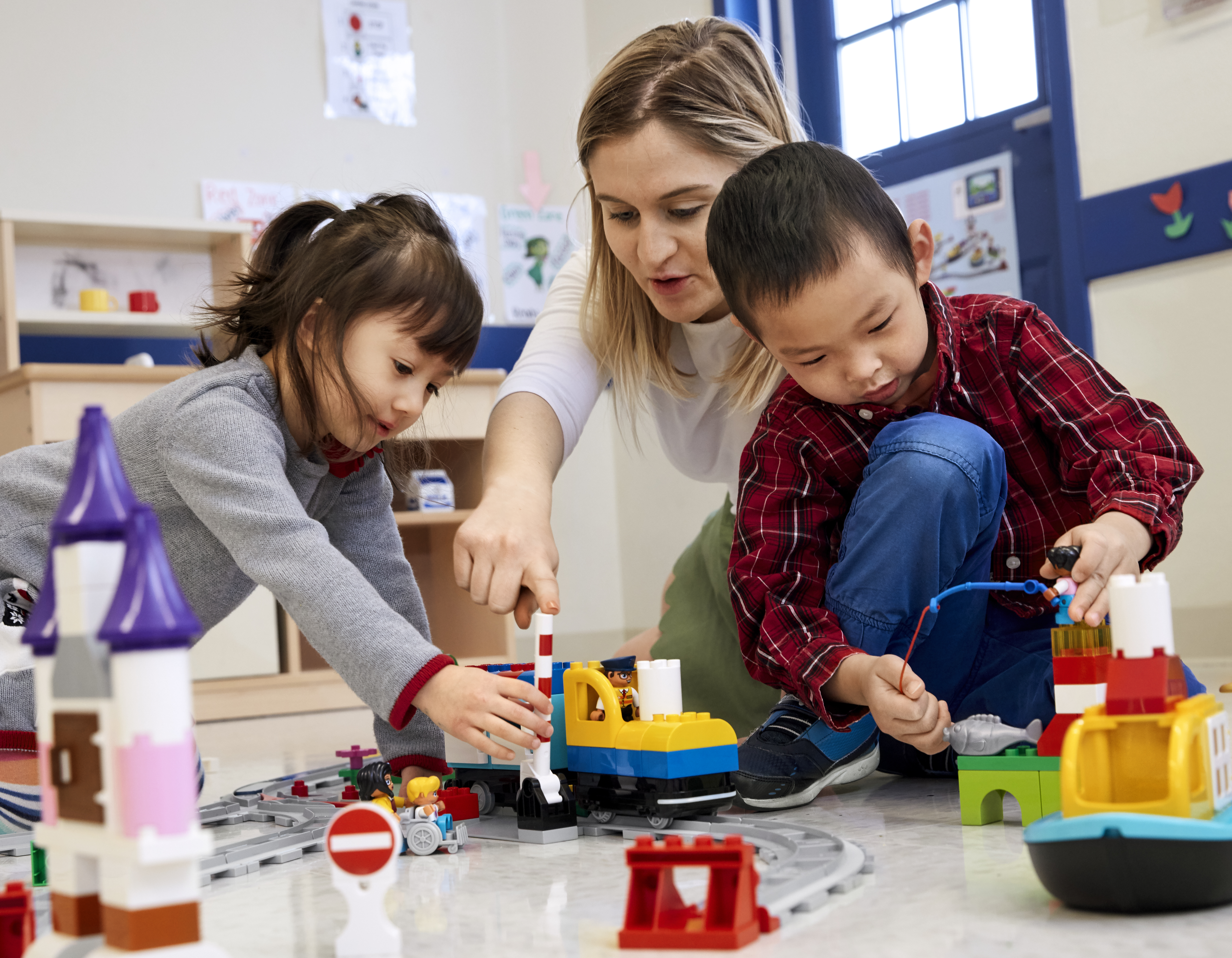 Early Learners Explore Coding Concepts With New Hands On Lego