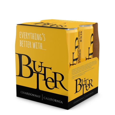 JaM Cellars, makers of Butter Chardonnay has released Butter Chardonnay in cans. (Photo: Business Wi ...