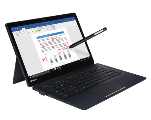 The Portégé® X30T is Toshiba's new premium 2-in-1 detachable laptop and incorporates 8th Generation  ...