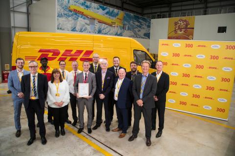 DHL Express Birmingham (UK) achieves TAPA
