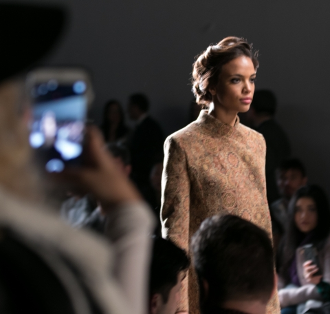 Clear Eyes® partners with The Nolcha Shows to showcase emerging designers' #MyShiningMoment (Image courtesy of The Nolcha Shows)