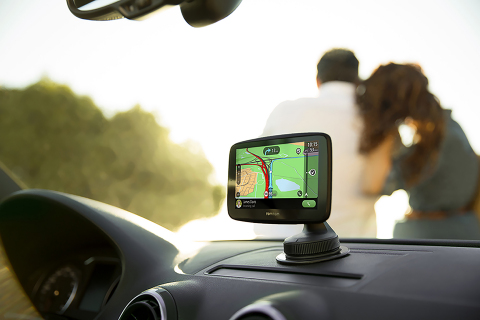 TomTom Go Essential: Powerful Navigation Seamlessly Integrated with Smartphone (Photo: Business Wire ...
