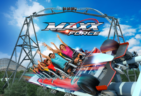 The all-new Maxx Force comes to Six Flags Great America in 2019! (Photo: Business Wire)