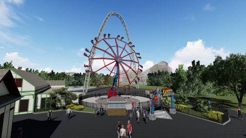 Six Flags St. Louis introduces the new DC SUPERGIRL attraction for 2019. Riders soar nearly 7-storie ...