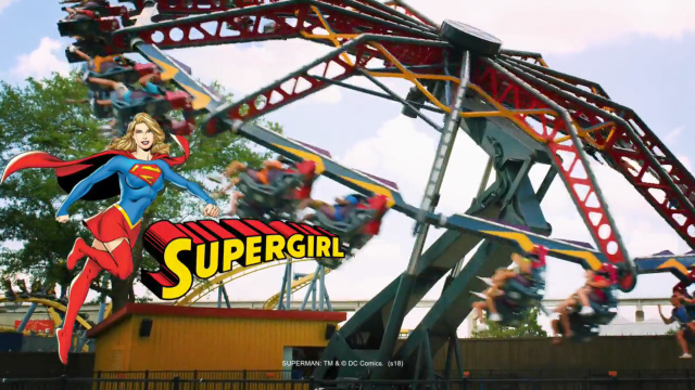 supergirl thrill ride landing at six flags st louis in 2019