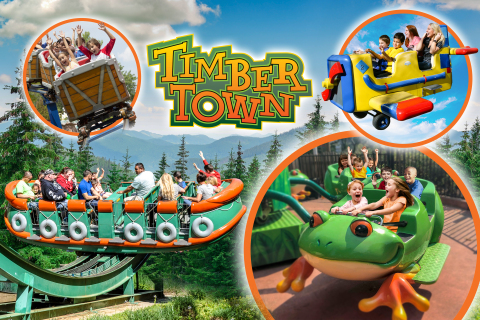 Frontier City's all-new Timber Town area coming in 2019 will feature the wildest kiddie rides in the ...