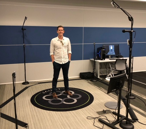 Jaunt's volumetric capture stage offers a portable solution for brands and publishers to create immersive content. (Photo: Business Wire)