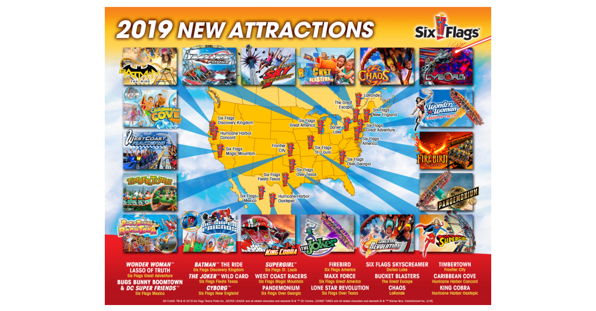 Six flags coupons 2019