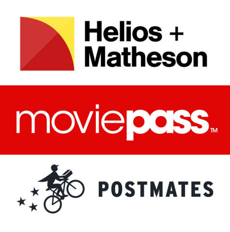 MoviePass partners with Postmates to offer subscribers added benefits (Photo: Business Wire)