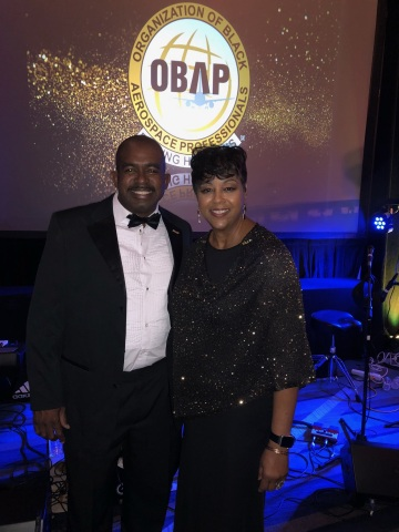 Silver Airways' Safety Specialist Andrew Nicholson (left) receives OBAP scholarship award; pictured  ...