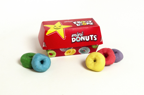 Carl's Jr. and Hardee's Launch Froot Loops Mini Donuts (Photo: Business Wire)