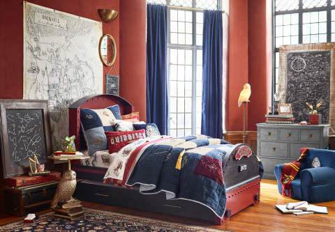 Harry Potter x Pottery Barn Kids Collection available today. (Photo: Business Wire)