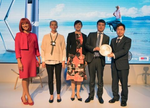 Midea AirX AC obtained the Product Technical Innovation Award at IFA2018 (Photo: Business Wire)