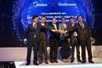 Midea RAC announced the Edge Interaction Intelligence (EII) specification together with Qualcomm Technologies, Inc. (Photo: Business Wire)