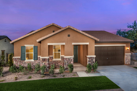 New KB homes now available in the Phoenix area. (Photo: Business Wire)