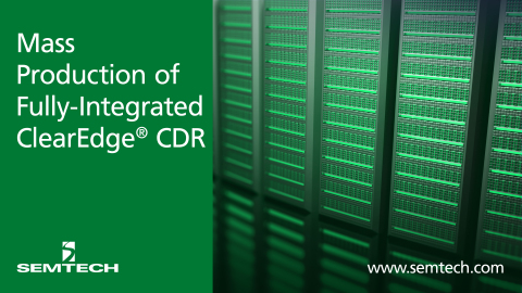 Semtech and ClearEdge CDR (Photo: Business Wire)