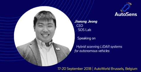 SOS LAB, a LiDAR development company focusing on core technology for self-driving cars, present its  ...