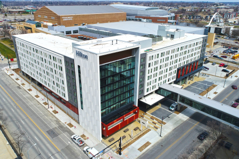 Engineering News-Record selected the Hilton Des Moines Downtown as one of its best project award win ...