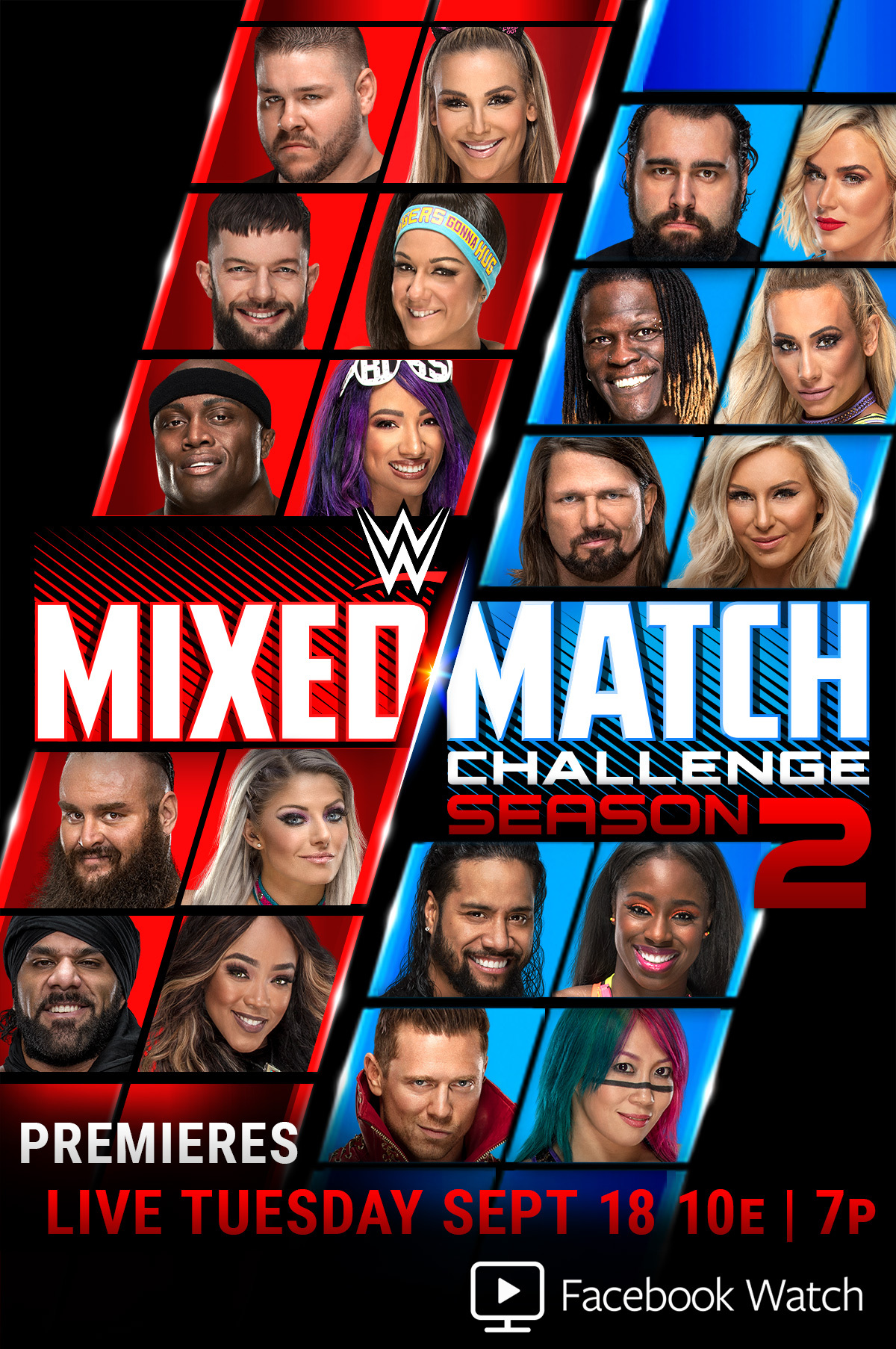 Image result for WWE Mixed Match Challenge