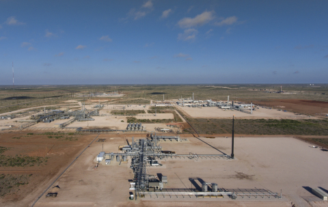 Lucid Energy Group's Red Hills Natural Gas Processing Complex in Lea County, New Mexico. (Photo: Bus ...