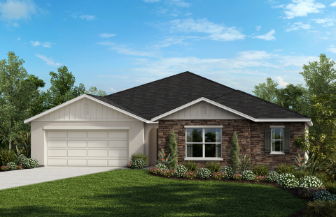 New KB homes are now available in the Orlando area. (Photo: Business Wire)