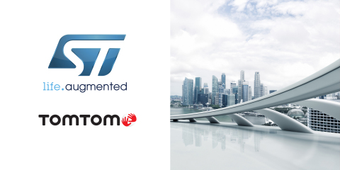 TomTom and STMicroelectronics to Offer Innovative Geolocation-Based Tools and Services (Photo: Busin ...