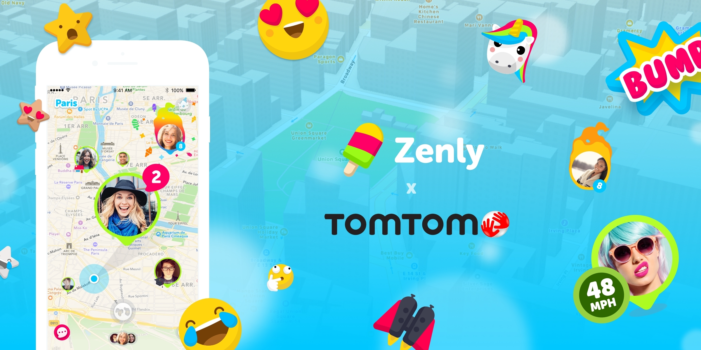 TomTom to Support Location Context Enhancements for Zenly