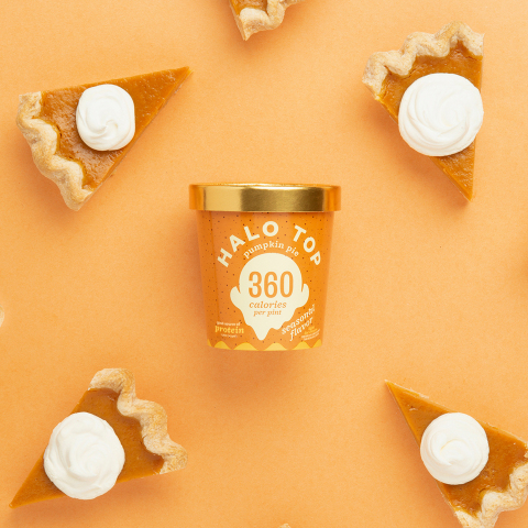 Halo Top Creamery welcomes back Pumpkin Pie by inviting fans to head to the freezer section for a free pint of ice cream on September 22. (Photo: Business Wire)