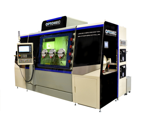 Optomec LENS 860 Hybrid Controlled Atmosphere Machine-for Larger Parts and Faster Build Speeds (Phot ...