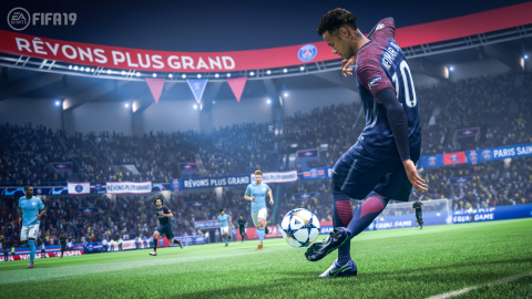 Playing across consoles, PC, mobile and competitive experiences, from all corners of the globe, players are making EA SPORTS FIFA the world's favorite sports game. (Graphic: Business Wire)