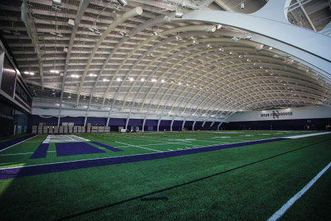 Northwestern University's Ryan Fieldhouse and Walter Athletics Center (Photo: Business Wire)