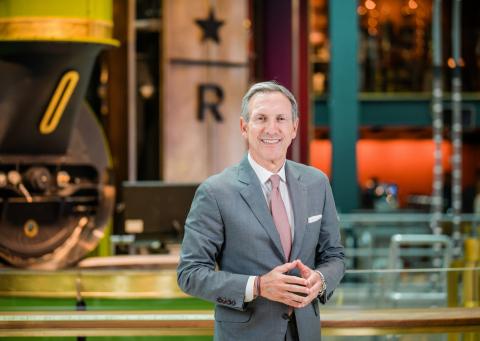 Starbucks Chairman Emeritus Howard Schultz (Photo: Business Wire)