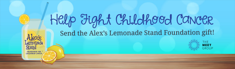 The Meet Group, Inc., is partnering with Alex's Lemonade Stand Foundation by releasing a special edi ...