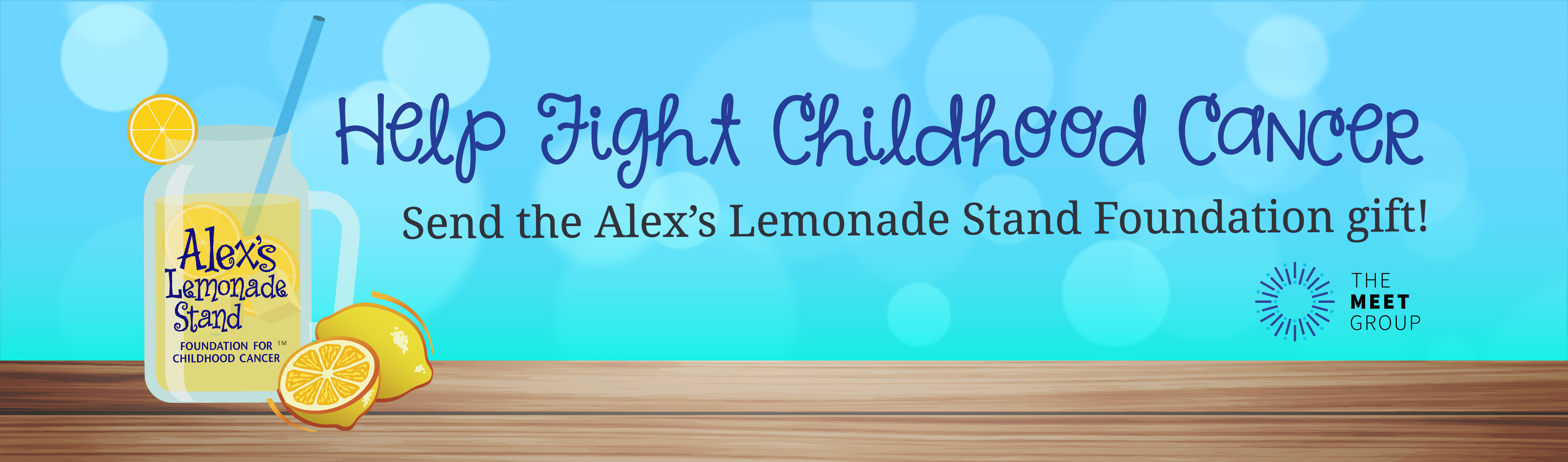 The Meet Group Joins Alex's Lemonade Stand Foundation to Help