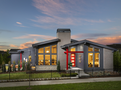 The KB Smart Home System is showcased at KB Home's Stapleton Starlight Collection community in Denve ...