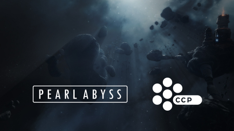 Pearl Abyss acquires CCP Games, creators of popular spaceship MMORPG EVE Online. (Graphic: Business Wire)