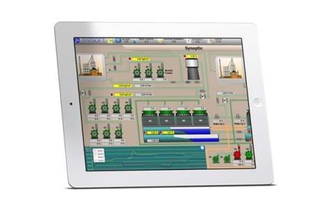 FactoryStudio running on iOS (Photo: Business Wire)