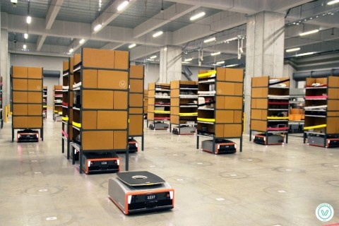 GreyOrange intelligent robotics systems deliver flexible, cost-effective supply chains to expedite d ...