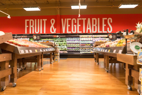 Newly Updated Farm-Fresh Produce Department (Photo: Business Wire)