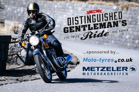 "Moto-Pneumatici.it sponsorizzerà nuovamente il ""Distinguished Gentleman's Ride"" (Photo: Business Wir ..."