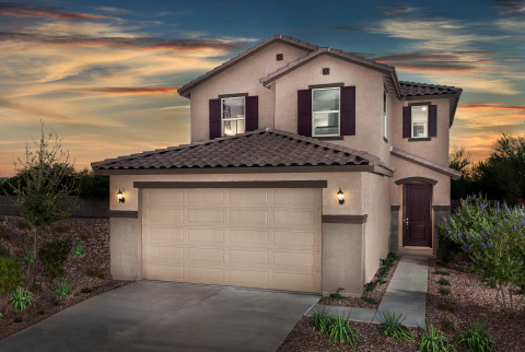 New KB homes are now available in Maricopa. (Photo: Business Wire)