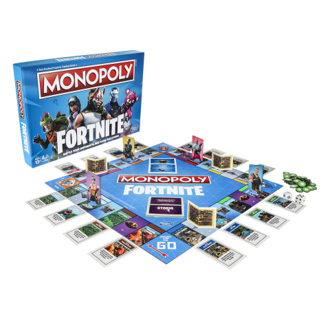 Hasbro announces partnership with Epic Games to introduce a range of Fortnite™ inspired play experiences, including MONOPOLY: Fortnite Edition Game, available globally this fall. (Photo: Business Wire)
