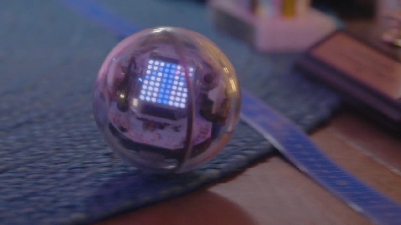 Sphero's BOLT is a powerful educational tool teaching kids about science, technology, engineering, art and mathematics.